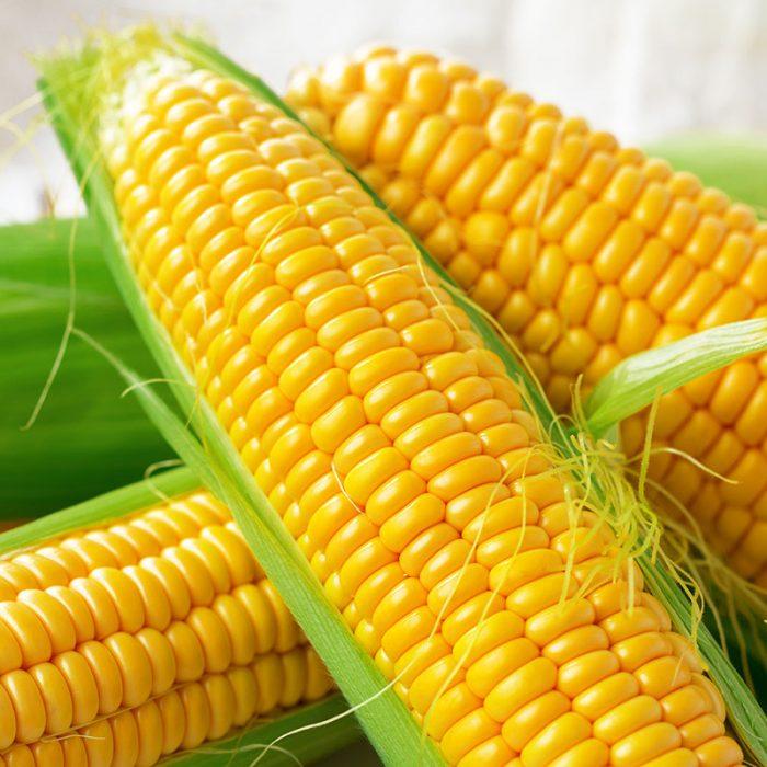 The Big Green Corn Pillow